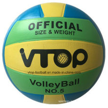 V-Top Three Color High Quality Rubber Volleyball