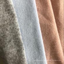yarn dyed jacquard brushed fabric