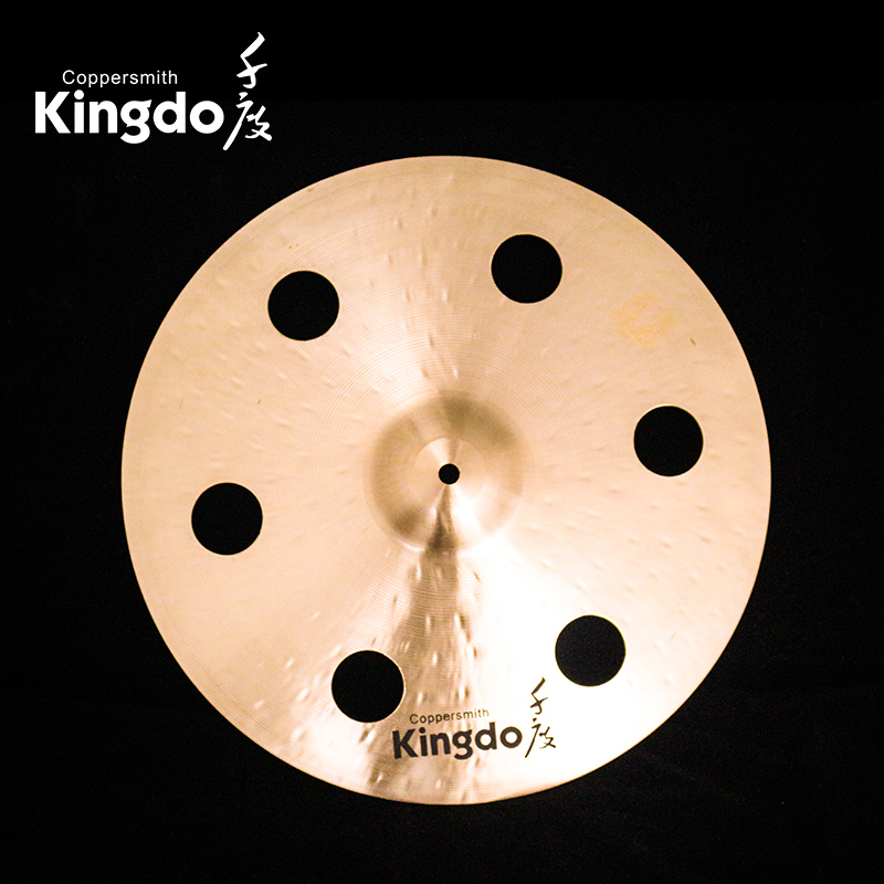 Cymbals With Holes