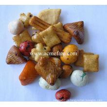 Biscoitos de biscoito de arroz misturado para Chrismas
