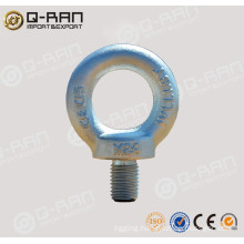 Marine Hardware Carbon Steel Drop Forged DIN580 Eye Bolt