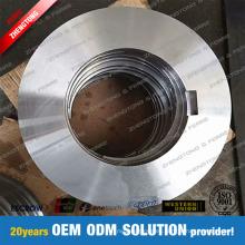 Hoja de disco de corte longitudinal de acero al carbono de acero inoxidable