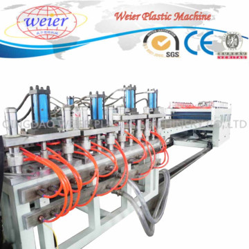 Línea de producción de máquina de extrusión de plástico Skinning Foam Board