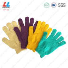 Elegant delicate visual smooth gloves