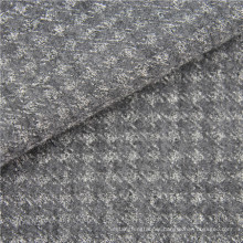 wool polyester knitted fabric wool knit stretch fabric