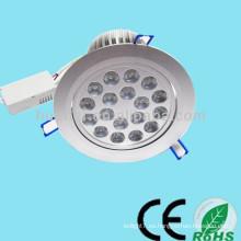 La venta superior 85-265V 12-24V 1-36w 18w llevó la luz de techo (dimmable)