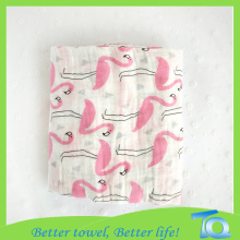 100% Cotton Bamboo Baby Muslin Blanket Super Soft
