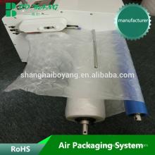 flexible Dämpfung Film weder oberhalb des Airbags Verpackungsmaschine