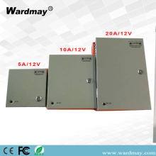 18chs DC12V30A CCTV Fuse Power Box Box