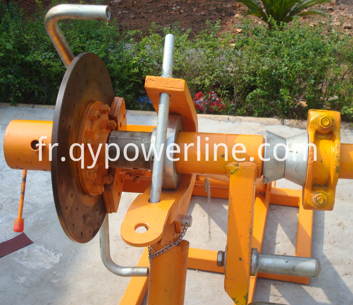 Braking Type Drum Lifting Stand