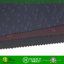 Tissu semi de mémoire de Dobby Poly de conception de coeur pour le vêtement