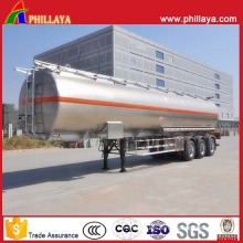 Commercial Vehicle Aluminum Alloy Fuel Oil Tank Tanker Semi Trailer