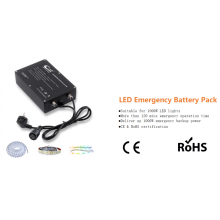 LED emergency driver for LED strip lights