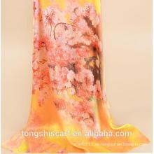 Art- und Weisedigitaler länglicher Schal der neuesten Dame langen Schal