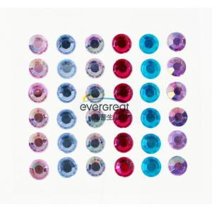 Self Adhesive colorful Gemstone