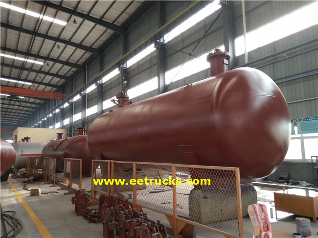 20T Propane Mounded Vessels