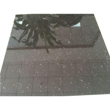 Super schwarz polierte Porzellan Bodenfliesen