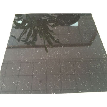 Super Black Polished Porcelain Floor Tiles