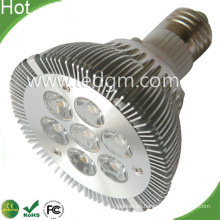 Viruta de Bridgelux PAR30 E27 7W LED lámpara