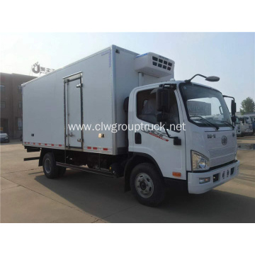 FAW J6F vegetable transport truck refrigerated vehicle