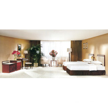 Modern Hotel Furniture Bedroom Bed with Double Bed