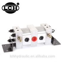oil gear pump distributors with flow divider hydraulic oil divider