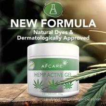 Organic Natural Hemp Cbd Cream Gel for Pain Relief Gel