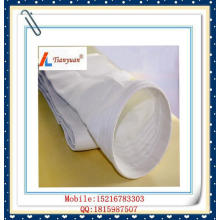 Bolsa de filtro de tela de fibra de vidrio de fibra de vidrio sin alear expandida para incinerador de basura