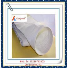 Sac de filtre en fibre de verre E-PTFE haute température sans alcalin pour centrale électrique