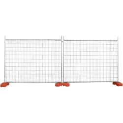 construction site temporary fencing