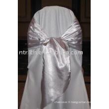 simple ceinture de satin, ceinture en polyester, ceinture de chaise