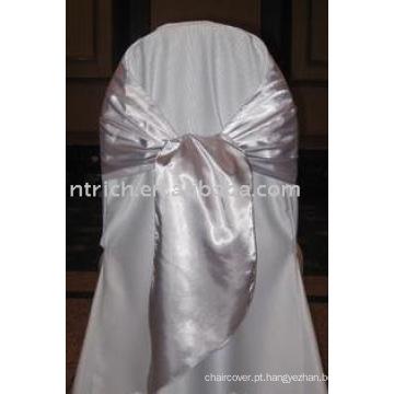 simples faixa de cetim, faixa de poliéster, faixa de cadeira