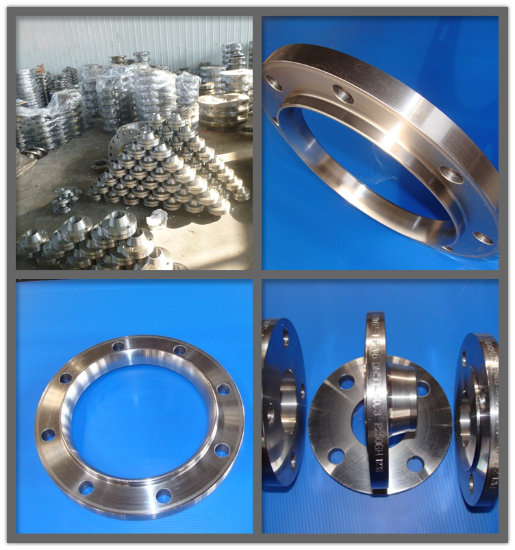 Socket weld steel flange