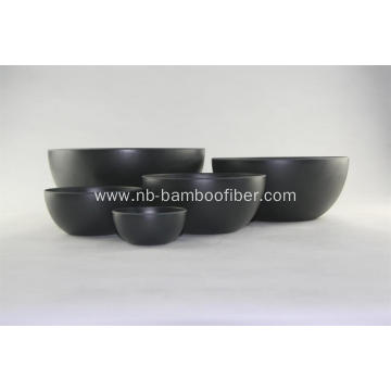 Bamboo fiber middle soup bowl