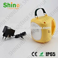 with phone charger rechargeable led solar camping lantern housing, solar camping light