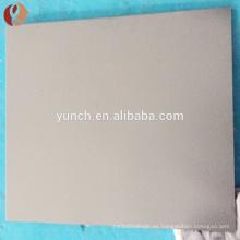 Placa de tungsteno / hoja utilizada para maquinaria agrícola