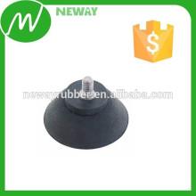 Copa de succión de goma personalizada con tornillo