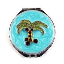 Palm Tree miroirs Compact