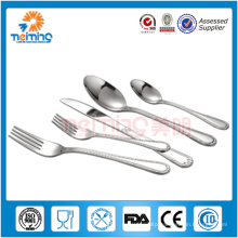 Promotion! different pattern stainless steel cutlery set