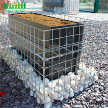 4.0mm hot-dip galvanized kimpalan gabion sungai bersih