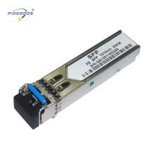 Módulos de fibra óptica de dos hilos de 3G CWDM Longitud del enlace de 40km y disipación de baja potencia de 1.5W