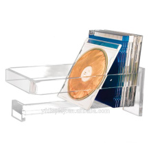 High Clear Wall-mounted Acrylic CD Holder