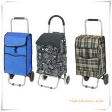 Bolso de la carretilla de las compras de dos ruedas para los regalos promocionales (HA82018)