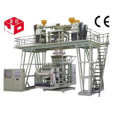 PP que sopra para baixo a máquina de sopro da película da Co-Extrusão de 3 camadas