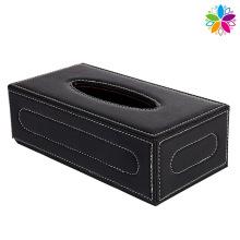 Rectangle Fashion Leather Tissue Box (ZJH057)