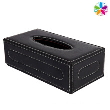 Rectangle Fashion Leather Tissue Box (ZJH057)