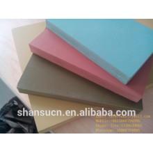 Panneau de celuka de PVC, panneau de forme de PVC 4x8