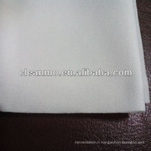 salle blanche découpée au laser 100% polyester