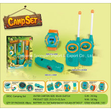 Boutique Playhouse Plastic Toy-Camping Set avec Smart Watch & Interphone