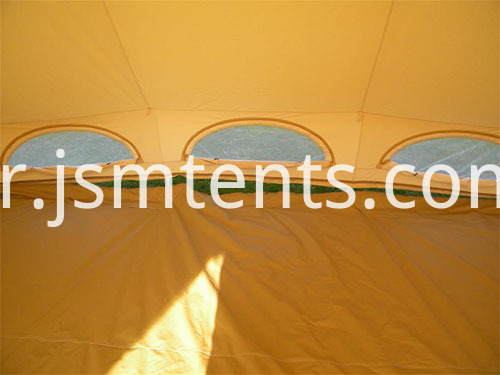 Canvas cotton awning